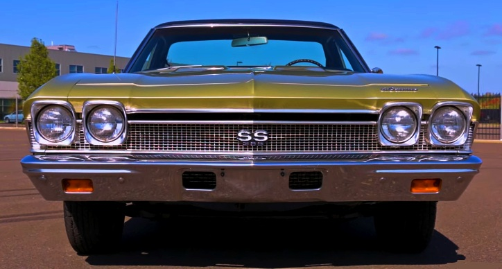 original 1968 chevy el camino ss 4-speed