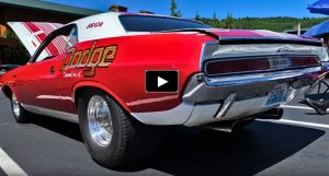 1970 dodge challenger 440 automatic race car