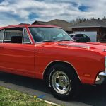 restored dodge muscle cars