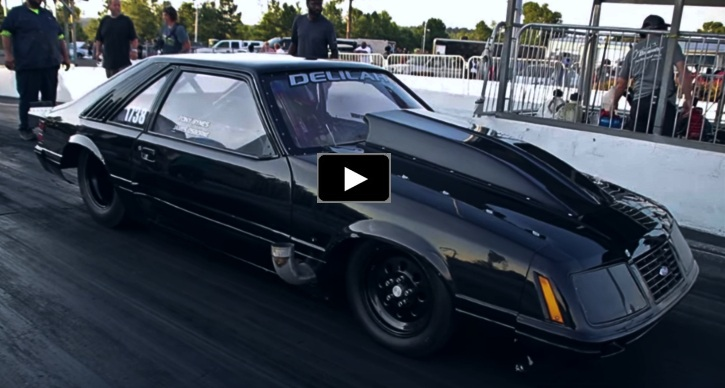 fox body mustang grudge race car