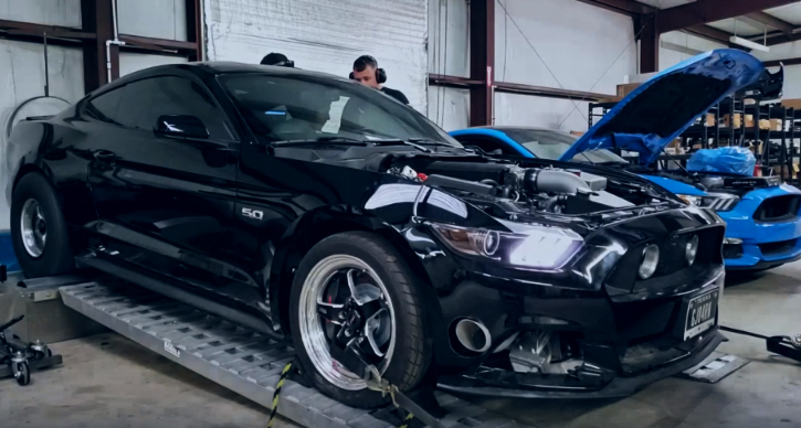 twin turbo mustang gt dyno