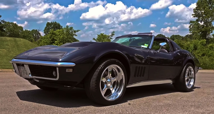 1968 chevrolet corvette 427 4-speed