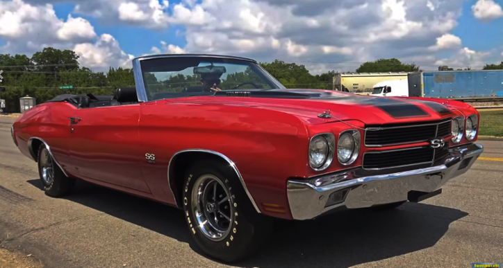 factory super sport 1970 chevrolet chevelle