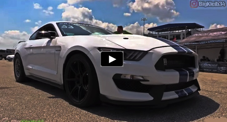 shelby gt350 world record
