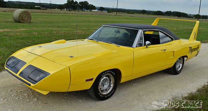 original 1970 plymouth superbird v code review