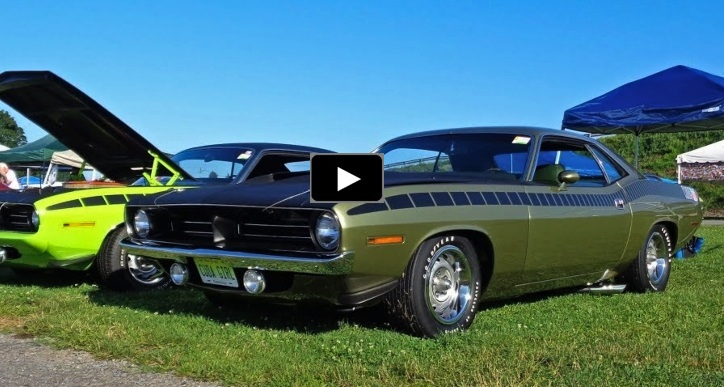 green 190 plymouth aar cuda