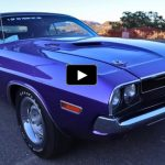 plum crazy 1970 dodge challenger rt/se 426 hemi