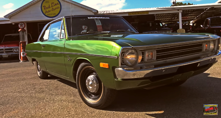 1972 dodge dart swinger survivor