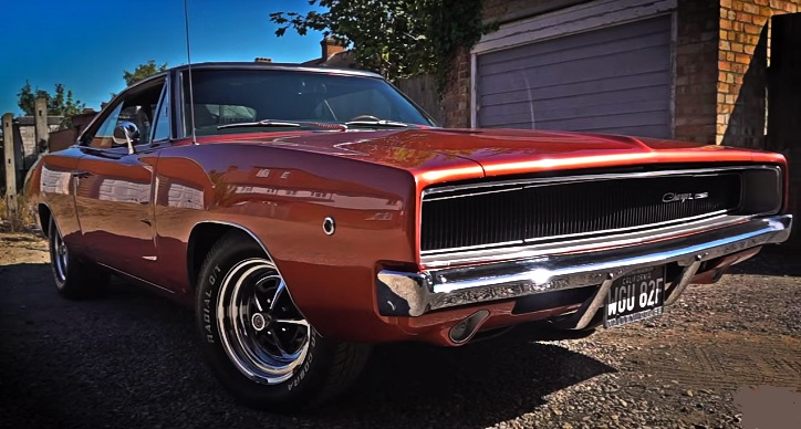 1968 dodge charger survivor