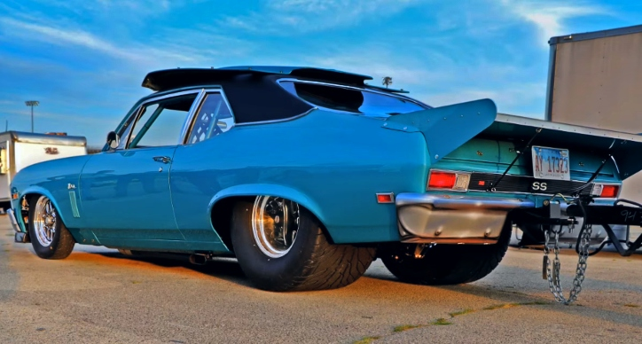 1969 chevy nova ss built hot rod drag week