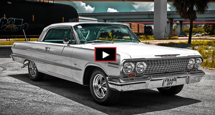 chevrolet impala ss 283 v8 frame off restoration
