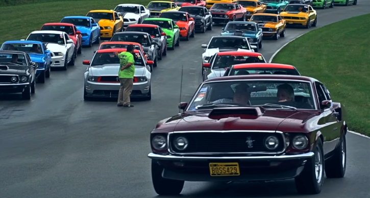 boss mustangs 2019 reunion video