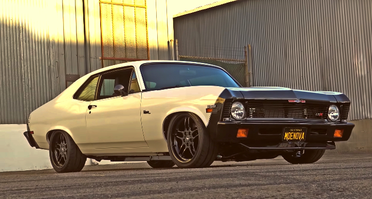 APS muscle cars 1972 chevy nova