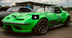 1968 chevy corvette green mamba