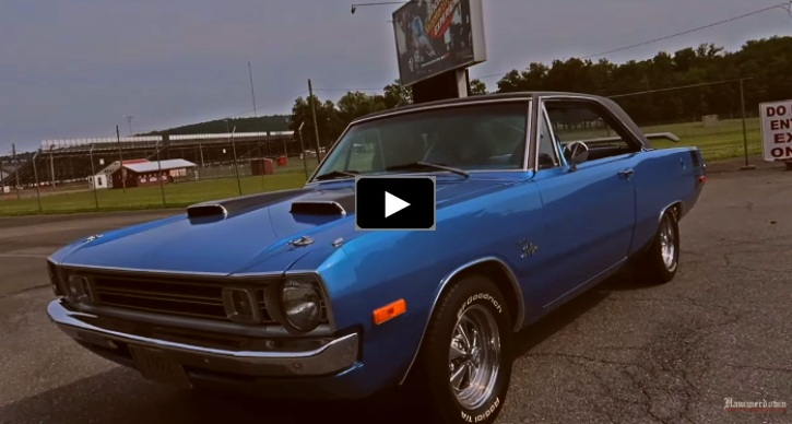 1972 dodge dart 360 ride along video