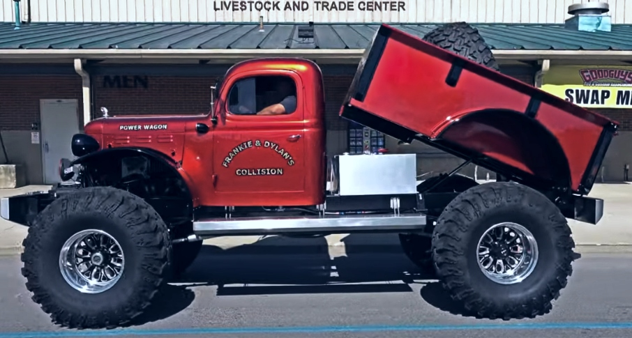 1948 dodge power wagon build