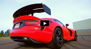 red 2017 dodge viper gtc sports car