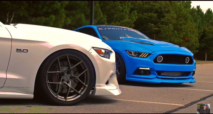 customized s550 mustangs