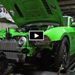 twin turbocharged s197 mustang dyno pull