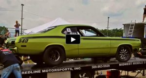 twin turbo plymouth duster small block 440 dyno