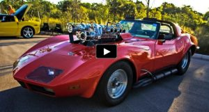 twin supercharged corvette pro street