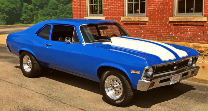 1972 chevy nova 350 build