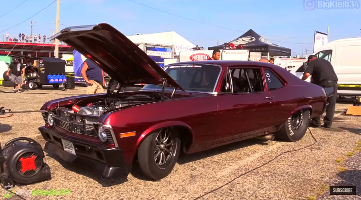 8-second procharged chevy nova