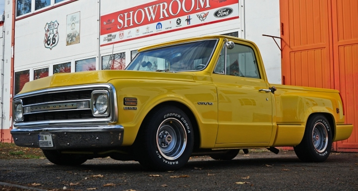 custom built 1970 chevrolet c10 truck