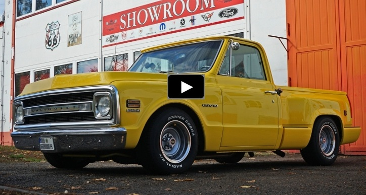 1970 chevy c10 454 big block truck