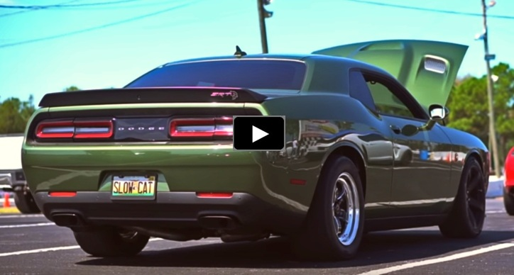 modified dodge challenger hellcat