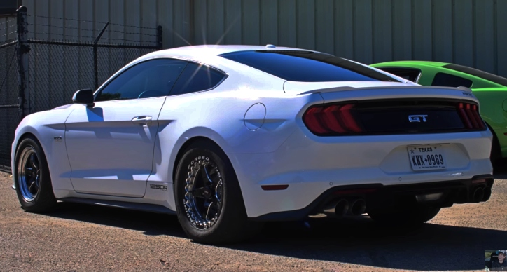 1200hp twin turbo coyote mustang gt