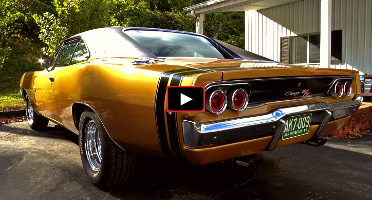 1968 dodge hemi charger automatic
