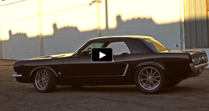 wide body 1965 ford mustang