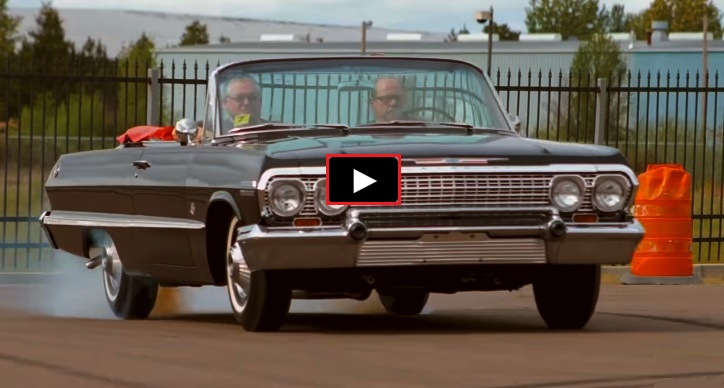 drop top 1963 chevy impala 409 4-speed