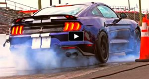 2020 shelby gt500 mustang track test