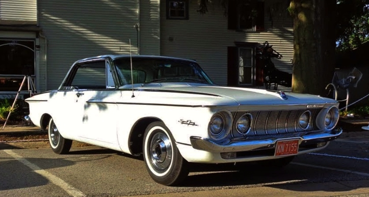 1962 plymouth sport fury wedge motor