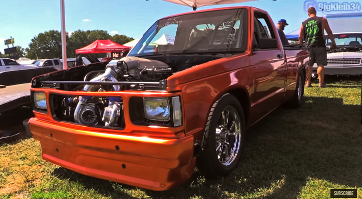 chevrolet s10 street truck holley ls fest