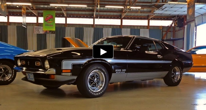 documented 1971 boss 351 mustang