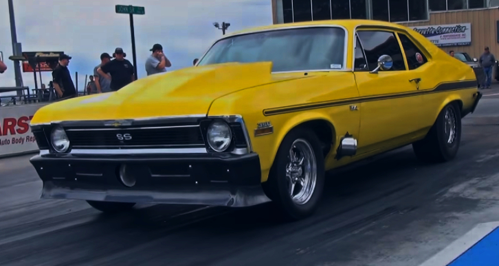 procharged small block chevy nova