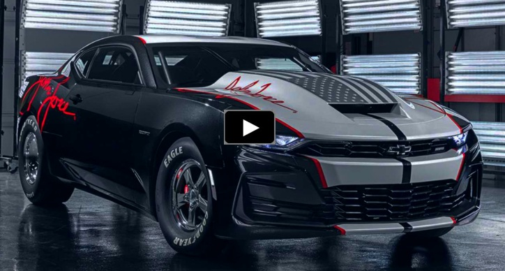 new copo camaro john force edition