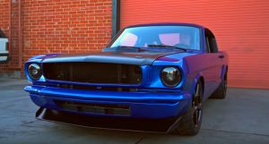 timeless kustoms devious ford mustang