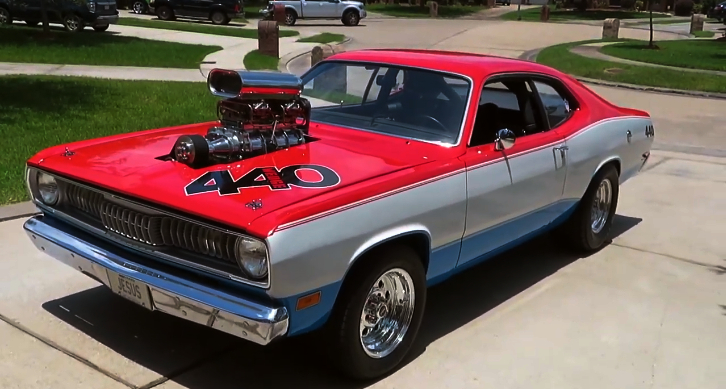 blown plymouth duster 440 build