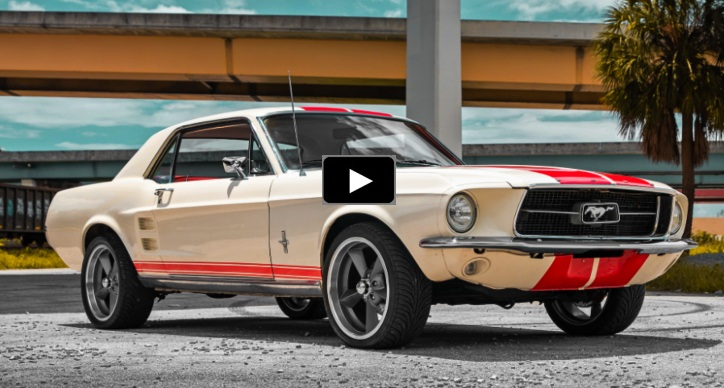 1967 ford mustang 289 v8 review
