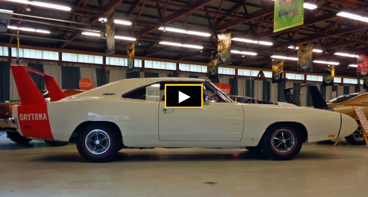 1969 dodge charger dayton restored with NOS parts