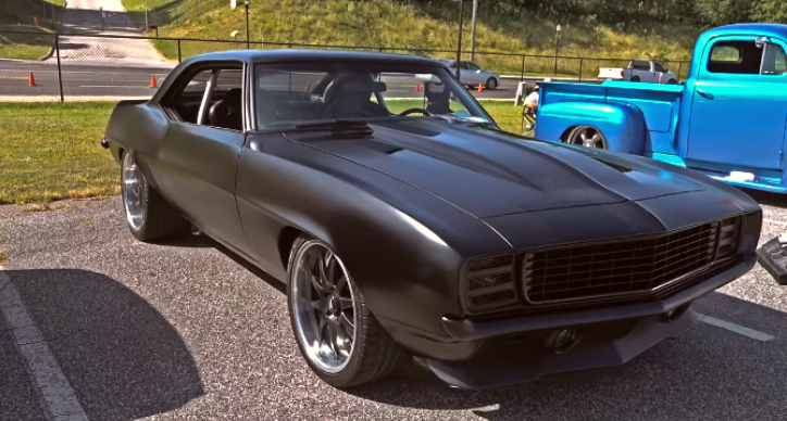 custom 1969 chevrolet camaro big block
