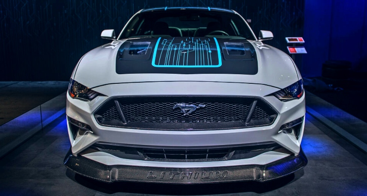 all electric ford mustang manual transmission