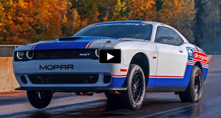 2020 dodge challenger factory built race car