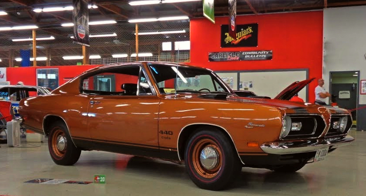 1969 plymouth barracuda 440 restoration