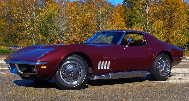 1969 chevrolet corvette L89 4-speed