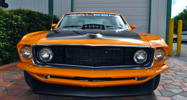 1969 mustang fastback saleen edition